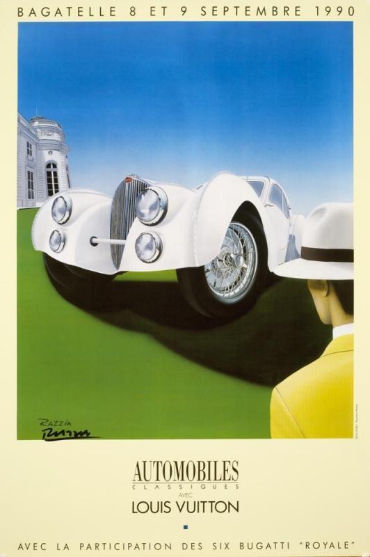 Razzia Louis Vuitton Bagatelle 1990, SIgned