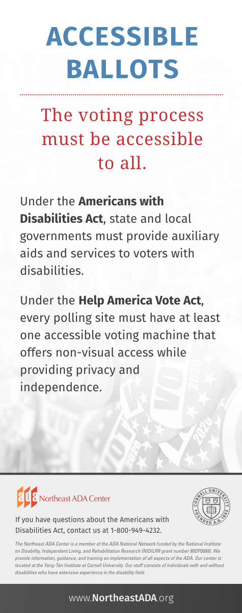 'Accessible Ballots'