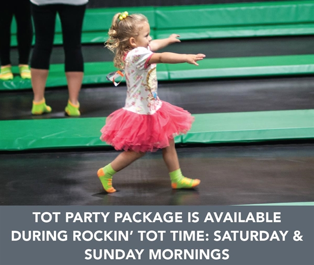 Junior Jumpers Party Package