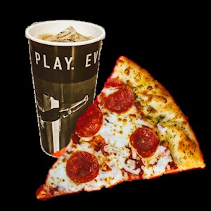#2 -  1 Slice of Cheese or Pepperoni and a Fountain Drink