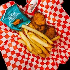 #1 - 4 Chicken Nuggets, Fries, Fruit Snack, & Koolaid Jammer