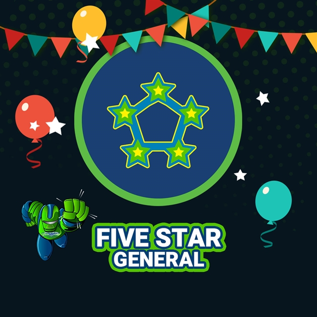 Five-Star Party Package