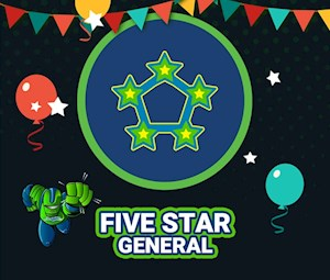 2019 Five-Star Party Package