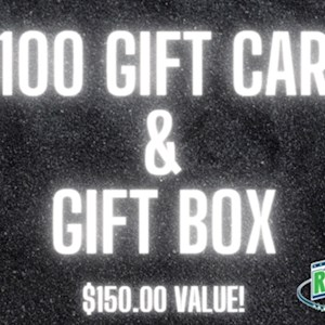 $100 Gift Card and Gift Package W/O SHIPPING