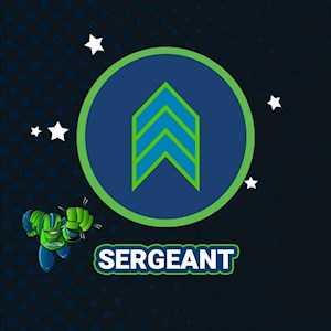 Sergeant Package 2HR Age 3-5