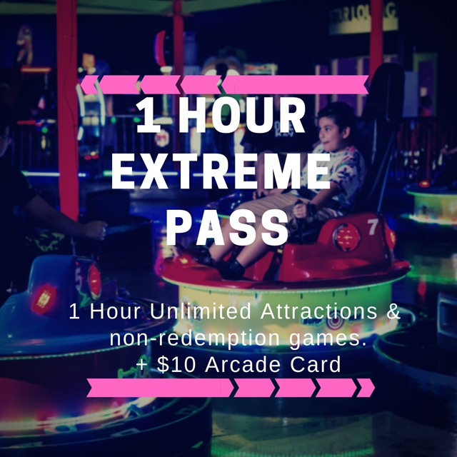 1 Hour Extreme Pass