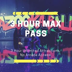 3 Hour Max Pass