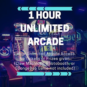 1 Hour  unlimited arcade