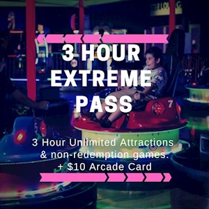 3 Hour Extreme Pass