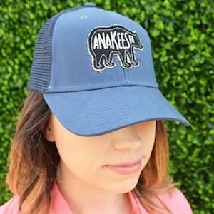Navy Mesh Black Anakeesta Bear Hat - $24.95