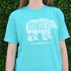 Blue Bear Logo T-shirt - $21.95