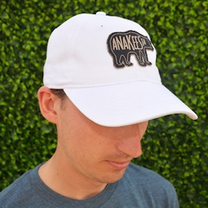 White Anakeesta Bear Hat - $20.95