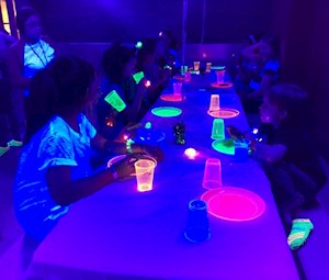 Friday Glow Platinum Party