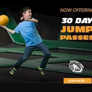 30 Day 1 hr Jump Pass