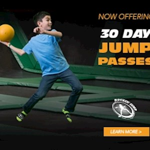 30 Day Unlimited Jump Pass
