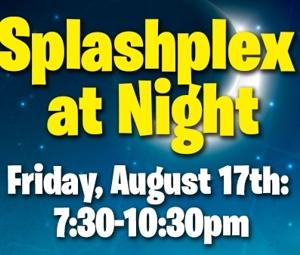 Summer 18-Splashplex at Night