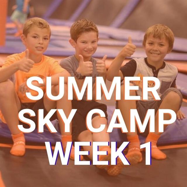 Camp Week 1 June 1 -5