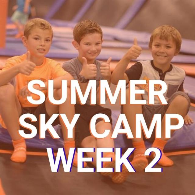 June 8 - 12 Sky Zone Spirit Week
