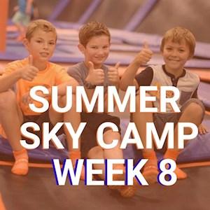 Camp Week 8 July 20 - 24