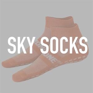 Sky Socks - Medium (Men's Size 5-6 | Women's Size 5-7.5)