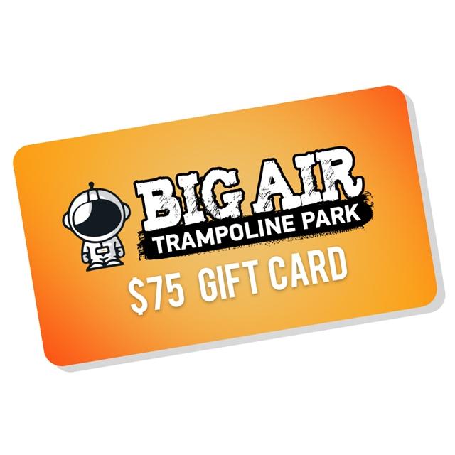 Big Air Gift Card - $75