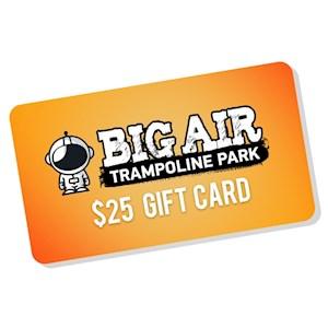 Big Air Gift Card - $25