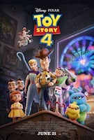 The film continues from Toy Story 3, where Sheriff Woody and Buzz Lightyear, among their other toy friends, have found new appreciation after being given by Andy to Bonnie. They are introduced to Forky, a spork that has been made into a toy and embark on a road trip adventure.