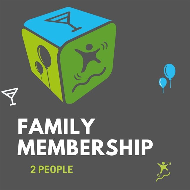 Family Yearly Membership (2 people)