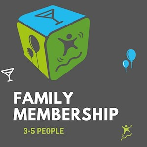 Family Yearly Membership (3+ people)