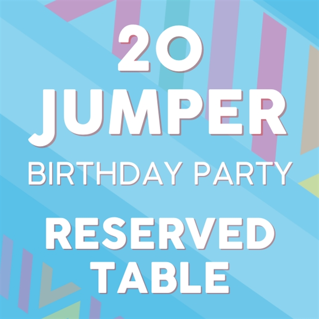 20 Jumper Table Party