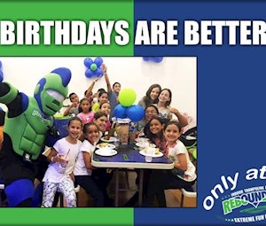 Rebounderz Major Party Package