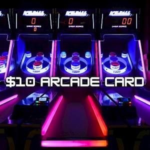 $10 Arcade Game Card