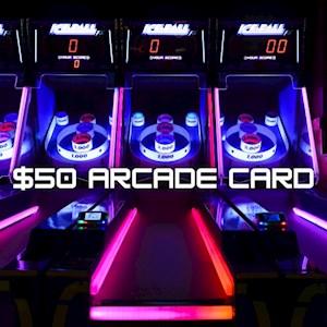 $50 Arcade Game Card