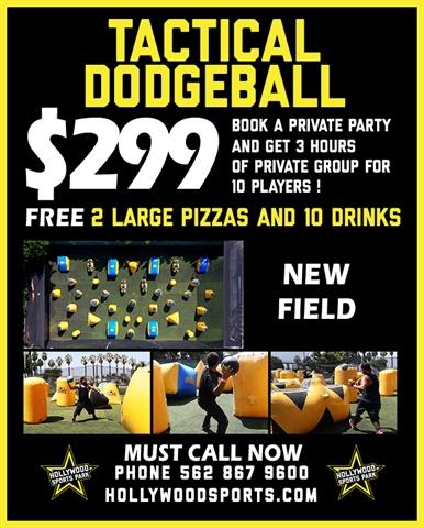 Tactical Dodgeball