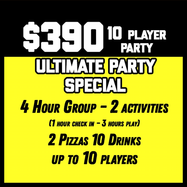 $390 Ultimate Party