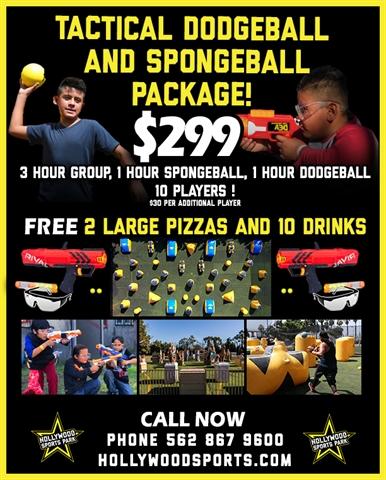 Tactical Dodgeball/Spongeball