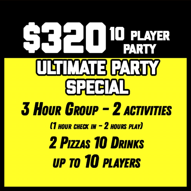 $320 Ultimate Party