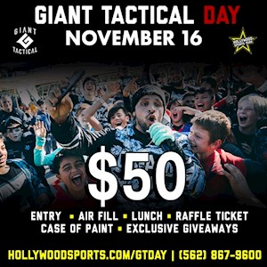 Giant Tactical Day November 16