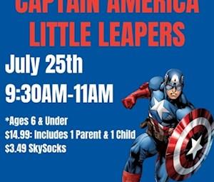 CaptainAmerica Little Leapers