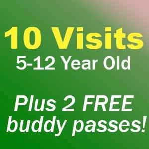 10+2 Visit Pass 5-12 Year Olds