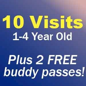 Funtasia 10+2 Visit Pass 1-4 Year Old