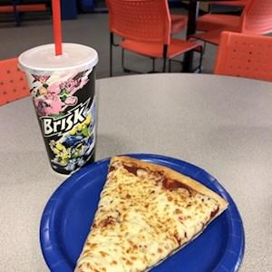 1 Slice Pizza/Regular Fountain Combo