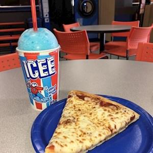 1 Pizza Slice/Regular Slushie Combo