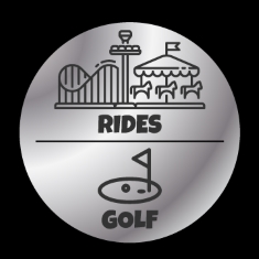 Silver Pass - Rides and a Round of Mini Golf