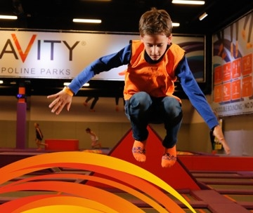 Trampoline Party Glasgow: Area