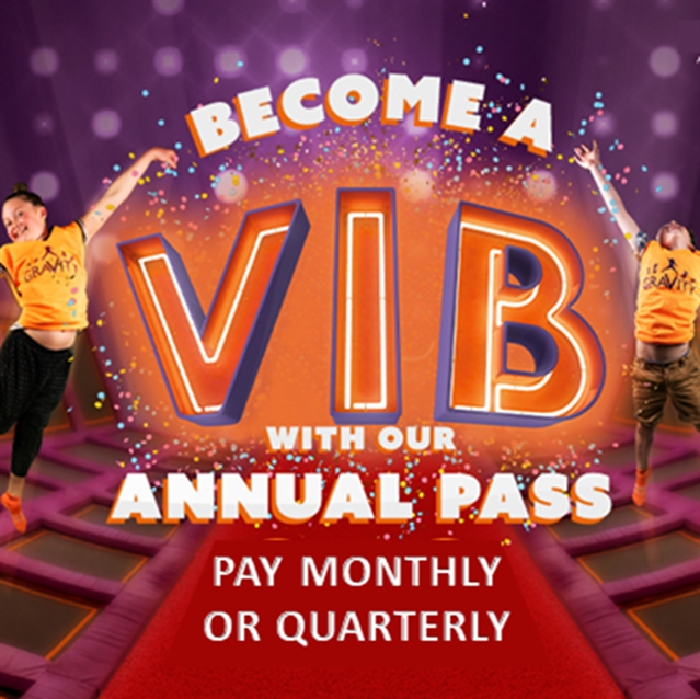 VIB Annual Pass Voucher: £39 PAID QUARTERLY