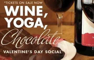 Ikea Kitchen:Chocholate, Yoga,and Wine 2/14/19