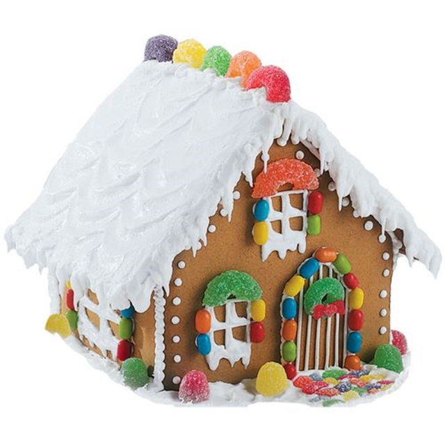 Build your own Gingerbread House Contest/Class