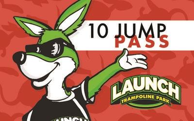 10 (1) Hour Jump Passes