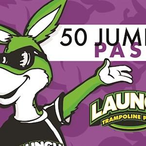 50 (1) Hour Jump Passes
